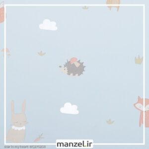 کاغذ دیواری طرح حیوانات کارتونی کد bq270203