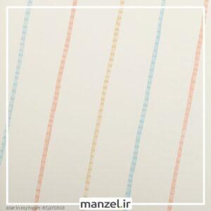 کاغذ دیواری طرح راه راه کد bq270303