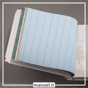 کاغذ دیواری طرح راه راه کد bq270304