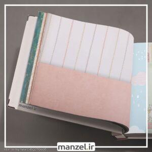 کاغذ دیواری طرح ساده کد bq270405