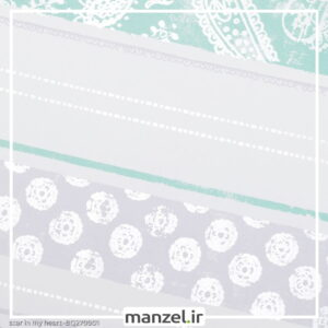کاغذ دیواری طرح راه راه کد bq270901