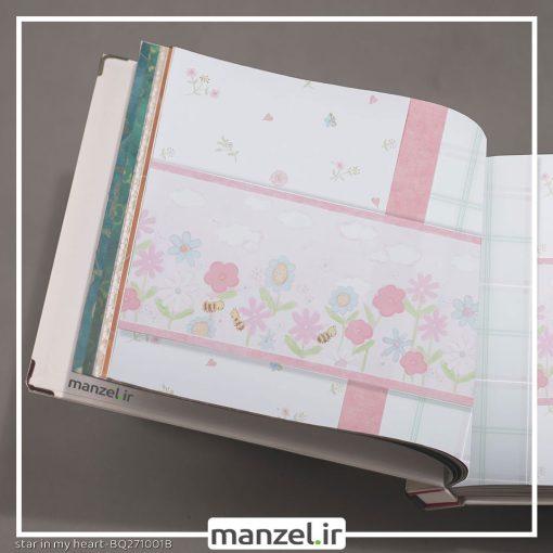 کاغذ دیواری طرح گل کد bq271001