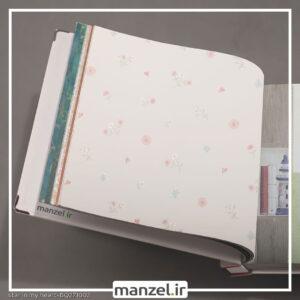 کاغذ دیواری طرح گل کد bq271002
