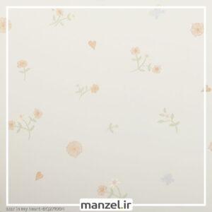 کاغذ دیواری طرح گل کد bq271004