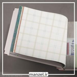 کاغذ دیواری طرح چهارخانه کد bq271102