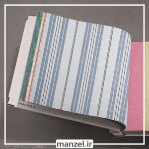 کاغذ دیواری طرح راه راه کد bq271503