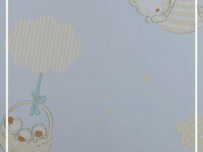 کاغذ دیواری طرح حیوانات کارتونی کد bq271604