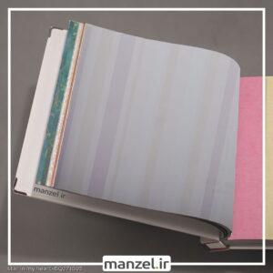 کاغذ دیواری طرح راه راه کد bq271805