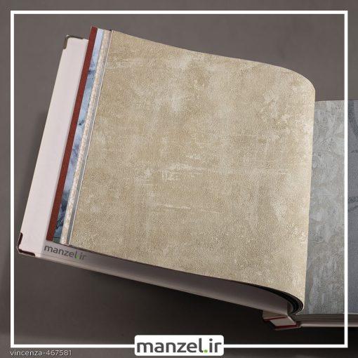 کاغذ دیواری طرح پتینه vincenza کد 467581