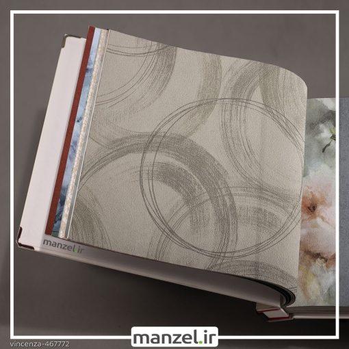 کاغذ دیواری طرح اشکال هندسی vincenza کد ۴۶۷۷۷۲