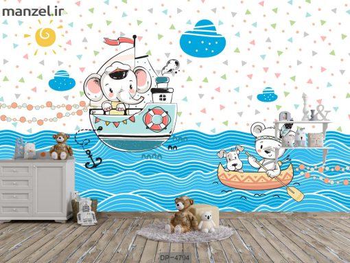 پوستر دیواری اتاق کودک DP-4794