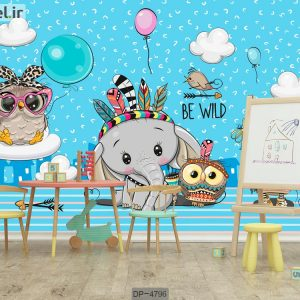 پوستر دیواری اتاق کودک DP-4796