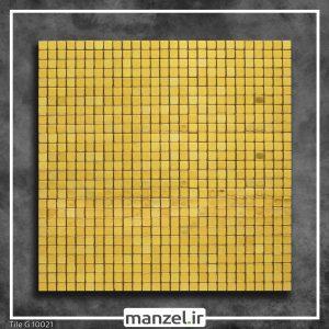 کاشی بین کابینتی طلایی کد 10021