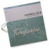 آلبوم کاغذ دیواری Turquaise