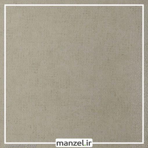 کاغذ دیواری طرح ساده Aquamarine کد 52102