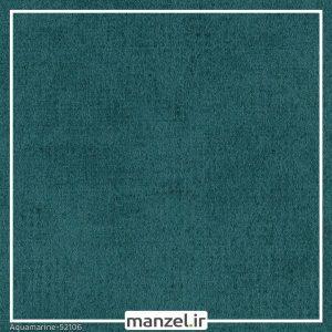 کاغذ دیواری طرح ساده Aquamarine کد 52106