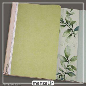 کاغذ دیواری ساده Aquamarine کد 52115