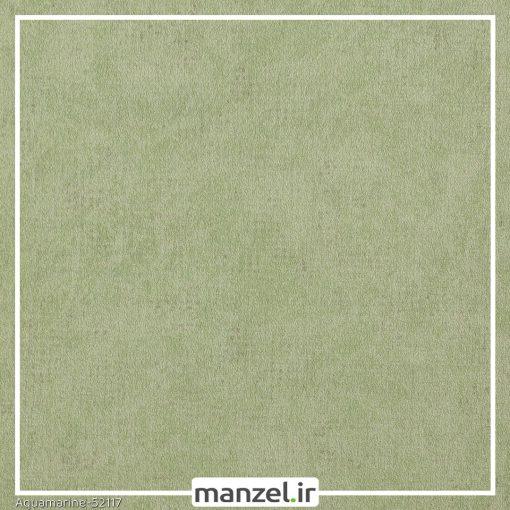 کاغذ دیواری ساده Aquamarine کد 52117