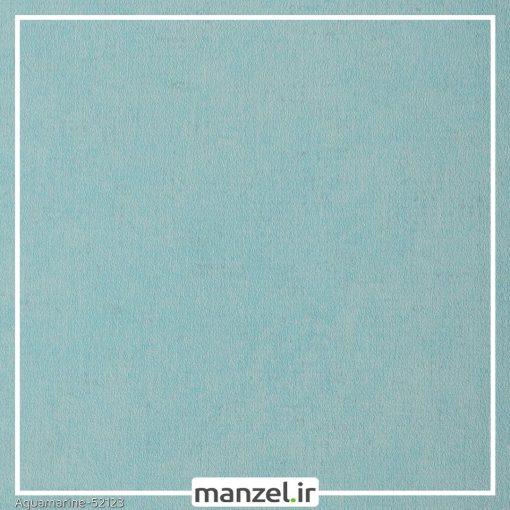 کاغذ دیواری ساده Aquamarine کد 52123