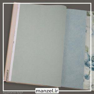 کاغذ دیواری ساده Aquamarine کد 52127