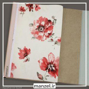 کاغذ دیواری گلدار Aquamarine کد 52201