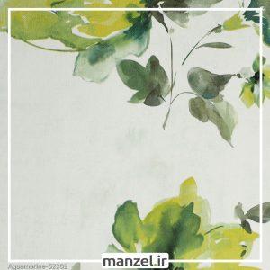 کاغذ دیواری گلدار Aquamarine کد 52202