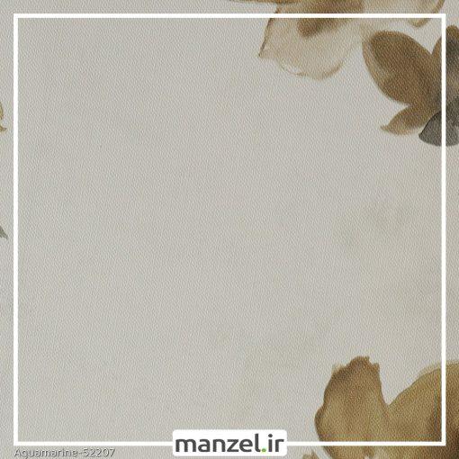 کاغذ دیواری گلدار Aquamarine کد 52207