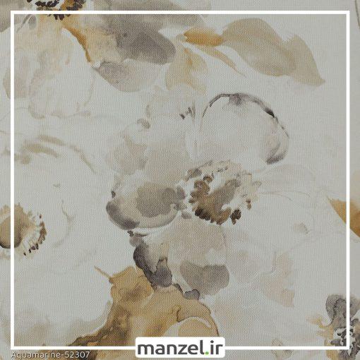 کاغذ دیواری گلدار Aquamarine کد 52307