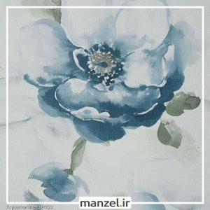 کاغذ دیواری گلدار Aquamarine کد 52403