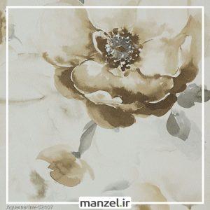 کاغذ دیواری گلدار Aquamarine کد 52407