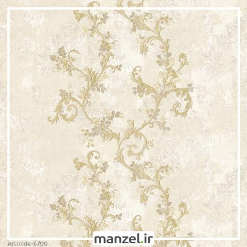 کاغذ دیواری گل artmide کد 6700