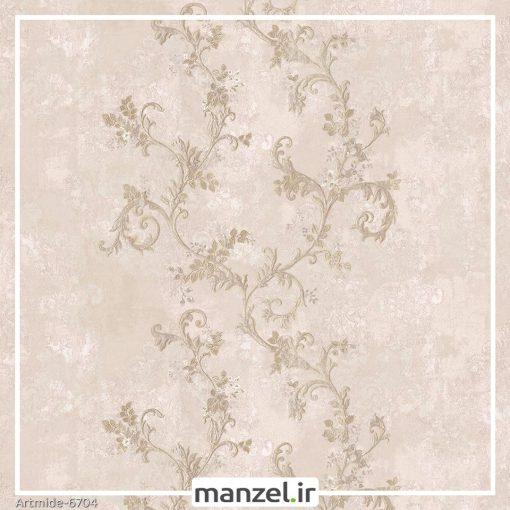 کاغذ دیواری گل artmide کد 6704