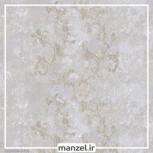 کاغذ دیواری گل artmide کد 6706