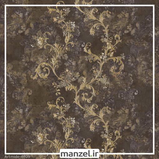 کاغذ دیواری گل artmide کد 6709