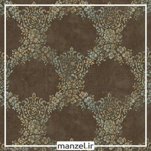 کاغذ دیواری گلدار artmide کد 6728