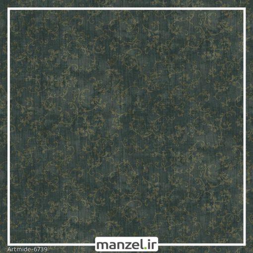 کاغذ دیواری گلدار artmide کد 6739