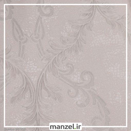 کاغذ دیواری گلدار Bonito کد 981102