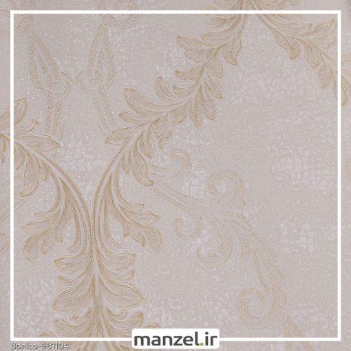 کاغذ دیواری گلدار Bonito کد 981104