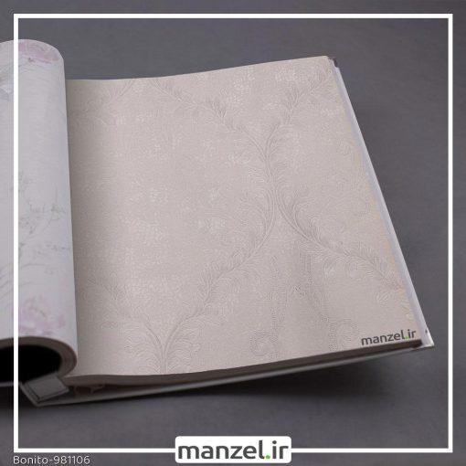 کاغذ دیواری گلدار Bonito کد 981106