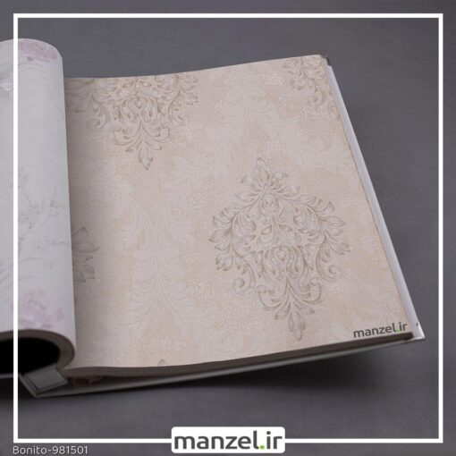 کاغذ دیواری داماسک Bonito کد 981501