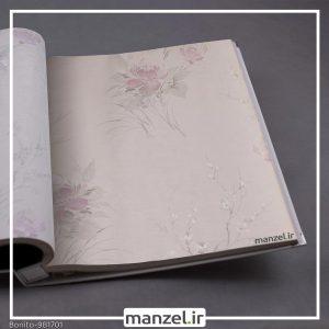 کاغذ دیواری گلدار Bonito کد 981701