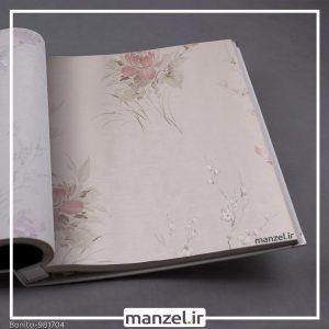 کاغذ دیواری گلدار Bonito کد 981704