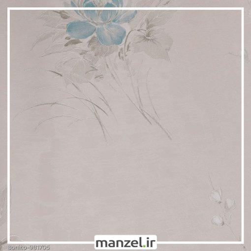 کاغذ دیواری گلدار Bonito کد 981705