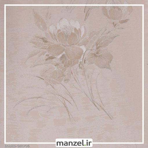 کاغذ دیواری گلدار Bonito کد 981706