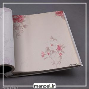 کاغذ دیواری گلدار Bonito کد 981802