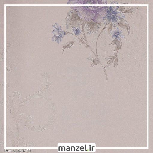 کاغذ دیواری گلدار Bonito کد 981803