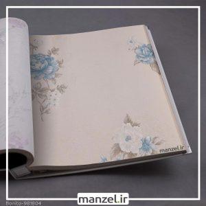 کاغذ دیواری گلدار Bonito کد 981804
