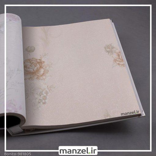 کاغذ دیواری گلدار Bonito کد 981805