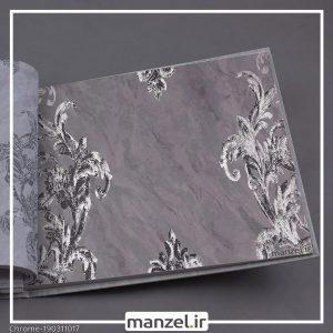 کاغذ دیواری گلدار Chrome کد 190311017