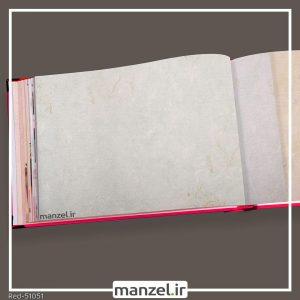 کاغذ دیواری داماسک red کد 51051